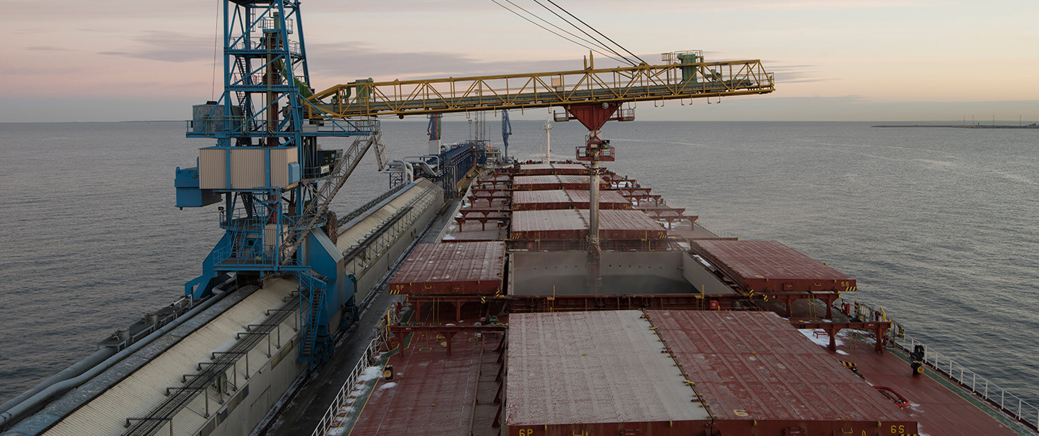 Ocean Freighters Limited | Shipping | Loading
