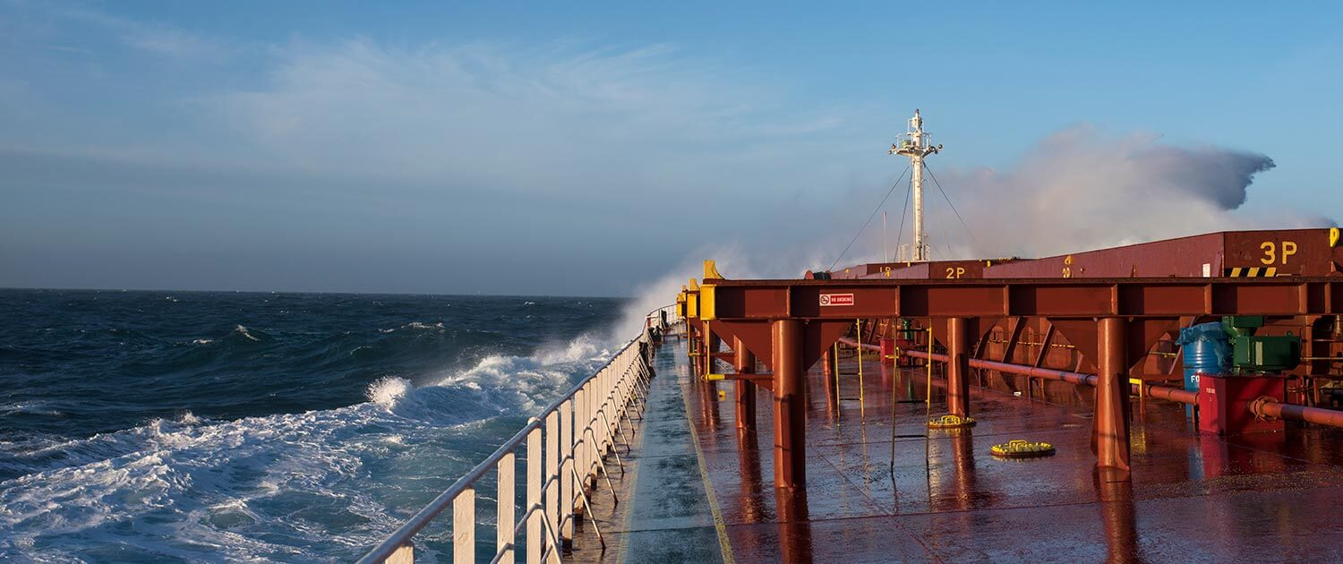 Ocean Freighters Limited | Shipping | Ship Deck | Ocean